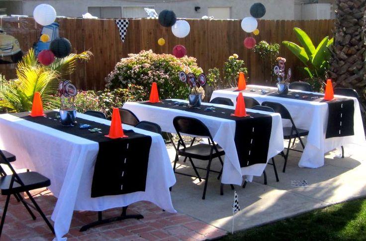Disney Pixar Car's Party Birthday Party Ideas   Photo 7 of 71   Catch My Par…
