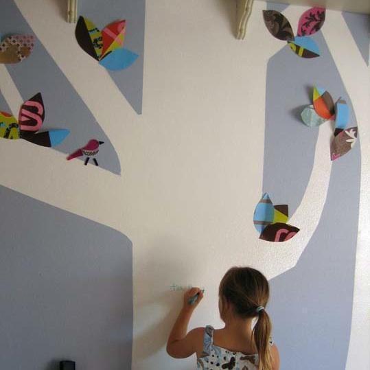 Como pintar uma parede com tinta de efeito magnético