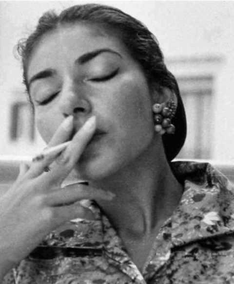 Maria Callas. Just downloaded a compilation of this woman, LOVE!