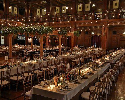 Scottish Rite Cathedral | Wedding Reception Indianapolis | A Napa Valley Wedding Reception