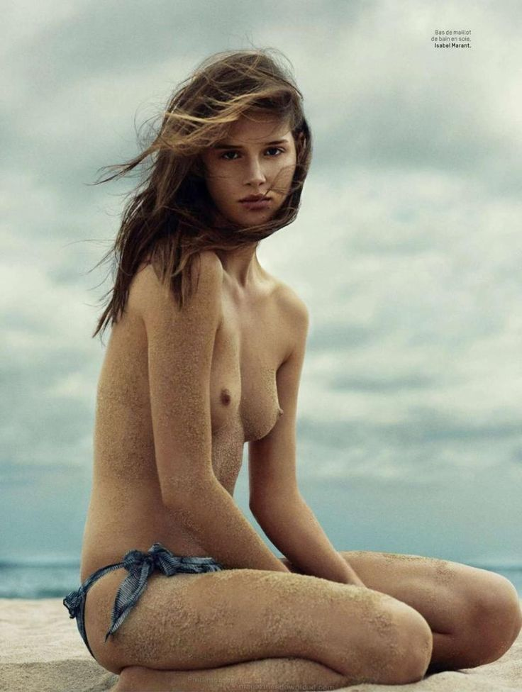 Asexy supermodel naked