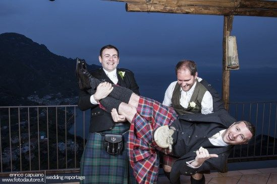 Ravello Amalfi Coast Photo Gallery Photographer Enrico Capuano funny wedding photos