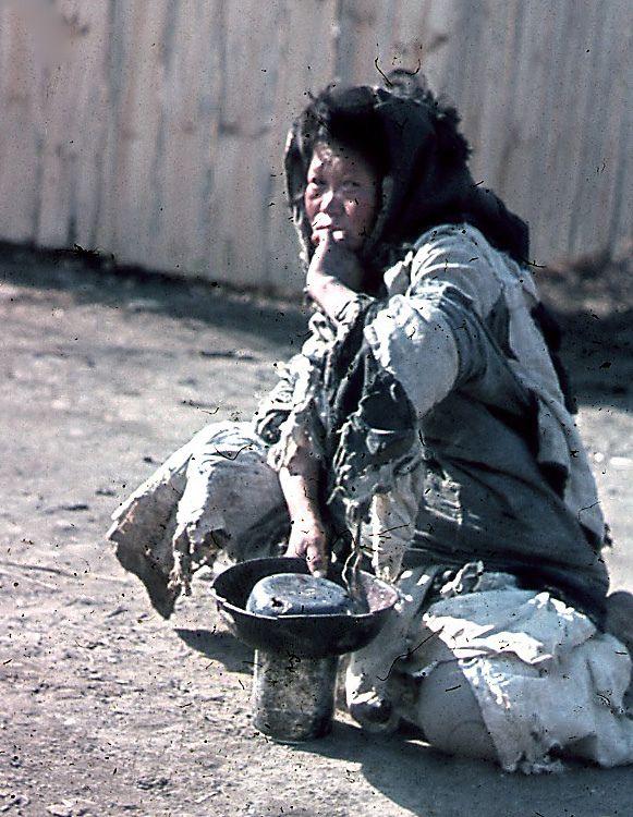 Seoul Beggar | Don O'Brien, 1945