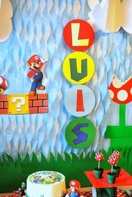 DIY party backdrop