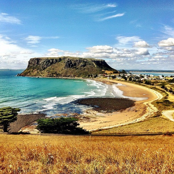 Stanley Tasmania - one of my favorite places in the world ♥ Inspired Pencubitt my sea-fishing village (minus the Nut).