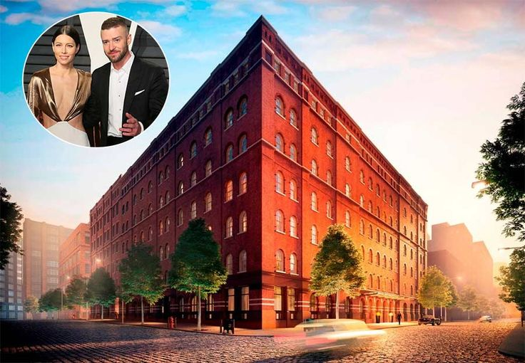 A converted 1880s book bindery in Tribeca is proving to be one of the hottest properties in New York after Justin Timberlake and Jessica Biel have become the latest stars to snap up an apartment in the building. According to property website Trulia, the couple have splashed out $20million on a four-bedroom, six-bathroom penthouse in the building. It's no surprise Justin and Jessica have invested in the property; as well as providing a spacious 5,375 square foot home for themselves and son…