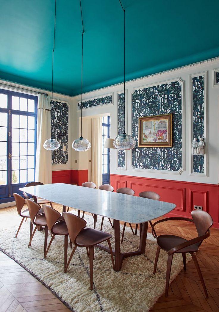 Salle à manger- Appartement Parisien de 320m2- GCG Architectes