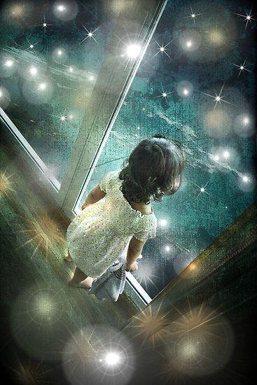 through the window of imagination.