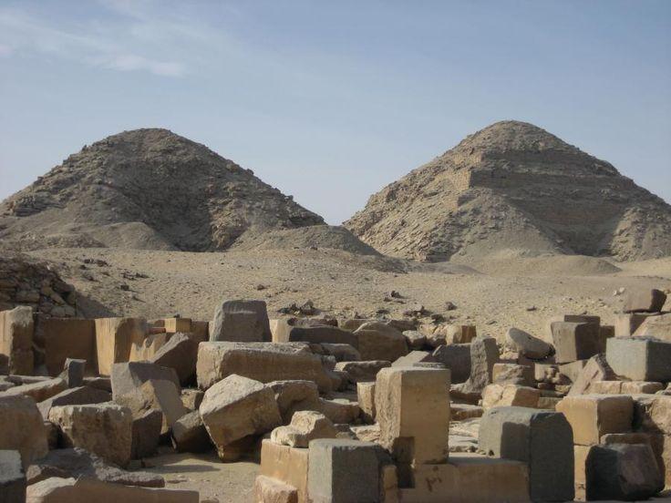 Pirâmides de Abusir - Egito