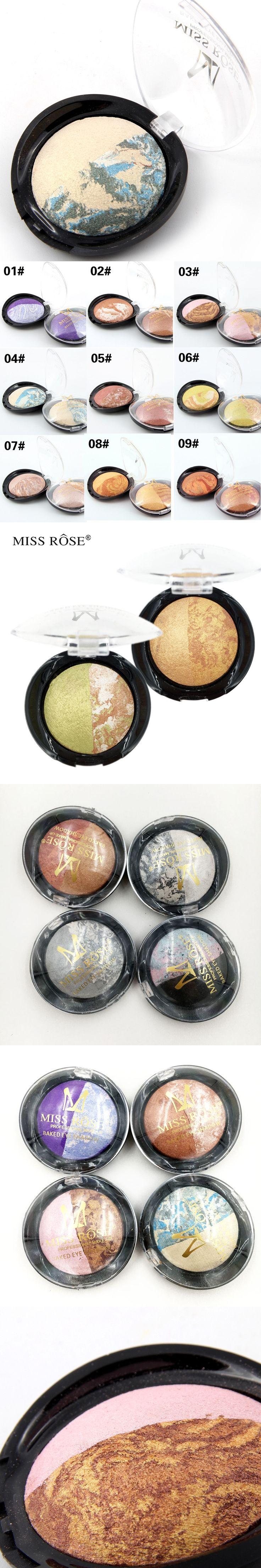 Miss rose brand natrul shimmer bake eyeshadow palette beautiful fashion Charm eye shadow pallete professional Makeup