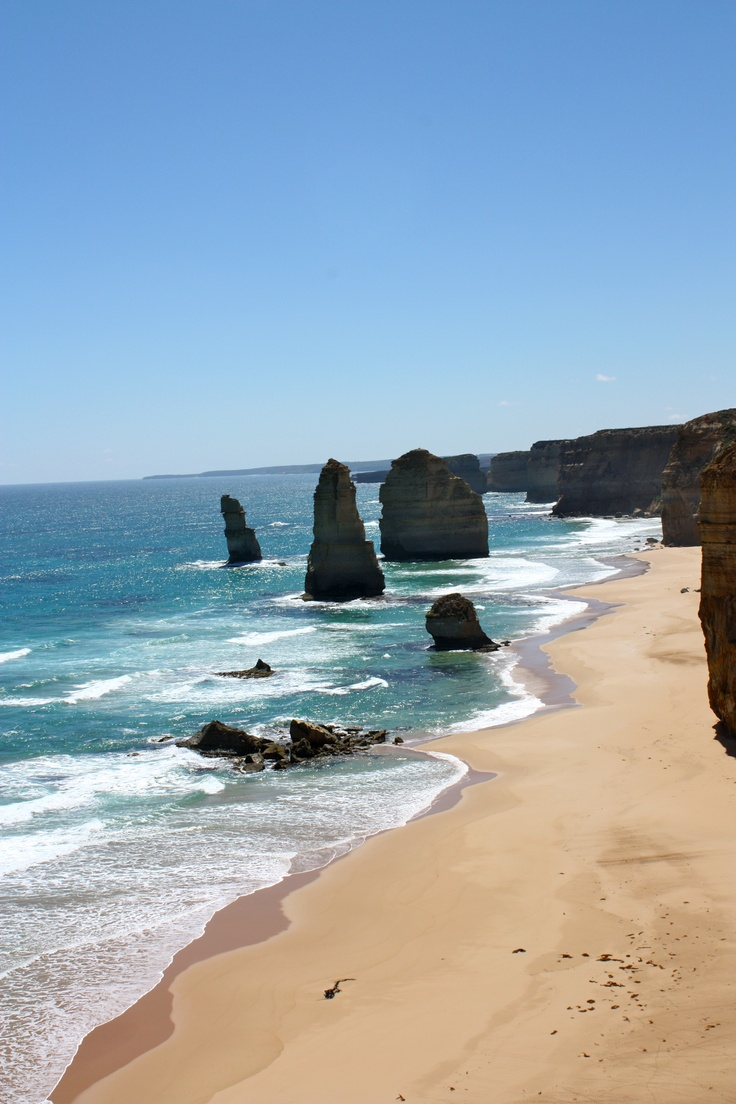 The 12 Apostles off the Great Ocean Road in Victoria, Australia