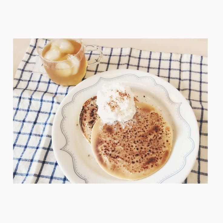 クレームブリュレパンケーキ