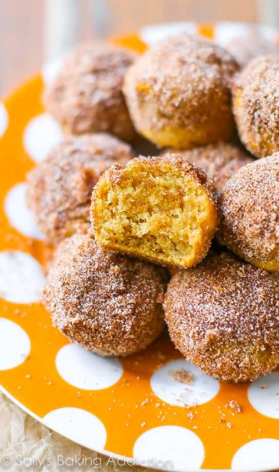 Kürbis Muffins mit Zimtzucker