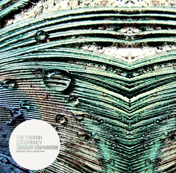 The Mirror Conspiracy - Thievery Corporation LP-cover, album art, music, design, art, organic, exotic, abstract