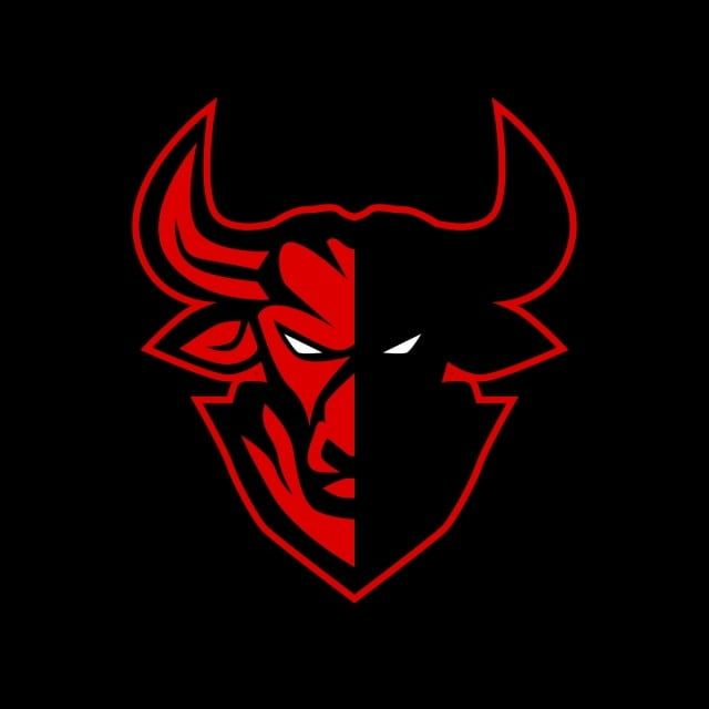 Logo Icons Head Icons Bull Icons Mascot Logo Head Symbol Illustration Team Angry Bull Animal Cartoon Vector Icon Wi Logo Illustration Bull Logo Logo Design Art