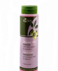 rizes crete Relaxing Shower Gel With Olive Oil & Lavender