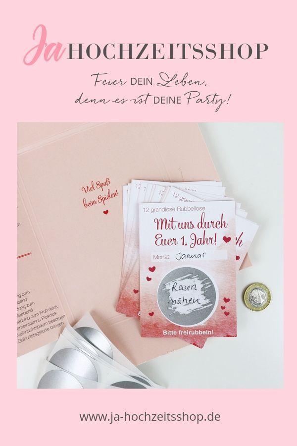 Hochzeitsspiel Mit Uns Durch Euer 1 Jahr Hochzeit Spiele Hochzeitsspiele Postkarten Hochzeit