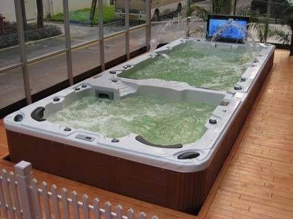 small modular swim spa fiberglass | outdoor spa swim spa best selling winner swim spa swim pool pool sr ...