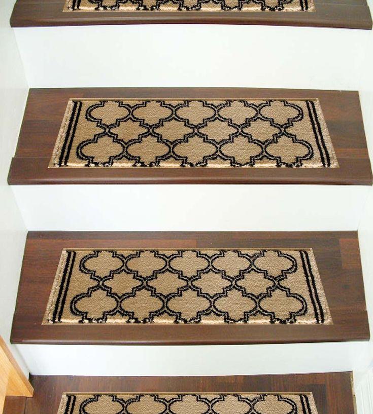 Best Caspian 8267Iv Morocco Ivory Stair Treads 9 In X 33 In 400 x 300