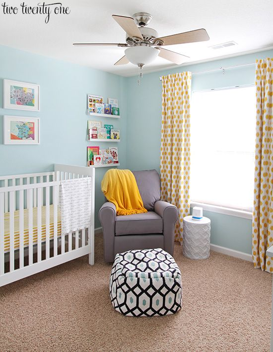 When I was pregnant one of the most frequent questions I was asked was, What's the nursery theme? I would begin by answering with my general color scheme. But I would almost always get puzzled looks.