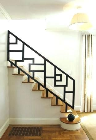 Railing Kits For Indoor Stairs Interior Wood Balcony Banister Railings Systems Stair Modern Metal Stai