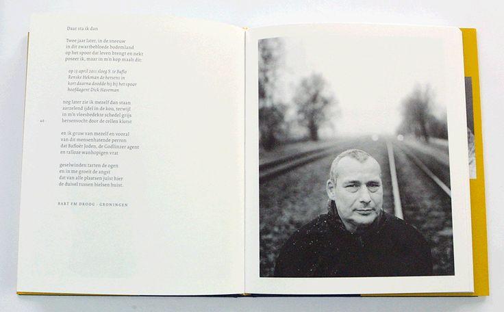 Keper ontwerp blog: De details van Verf 'Ik voel me verf' fotografie- en dichtbundel van fotograaf Joost Bataille