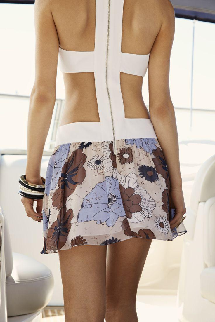 Skye Harte - Angelina Retro Mini Dress