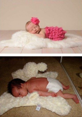 Expectation vs. Reality: 30 snapshots proving that baby photos do not always succeed