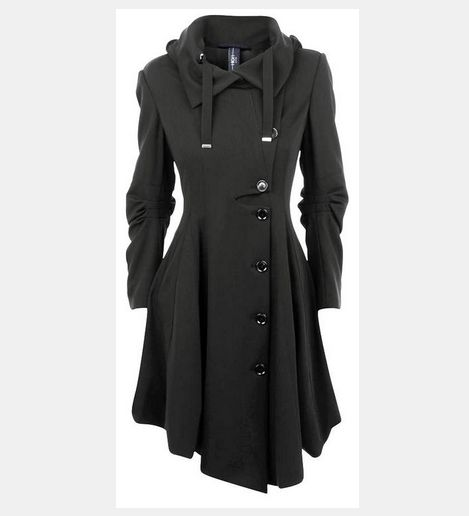 Even if I could afford this coat, it is out of stock on this website. :( http://www.polyvore.com/high_jersey_asymmetric_button_trench/thing?id=62890615