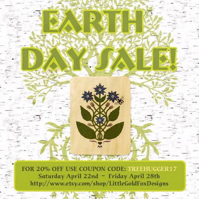 Sale from Earth Day to Arbor Day! Use the coupon: TREEHUGGER17 to get 20% off orders!