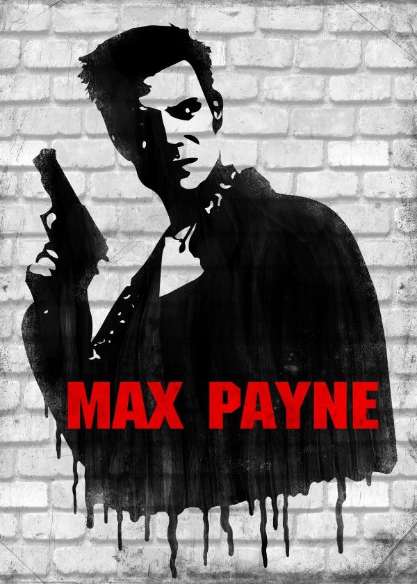 Max Payne by Remus Brailoiu | Displate | https://displate.com/displate/238256 | #maxpayne #noire #graphicdesign