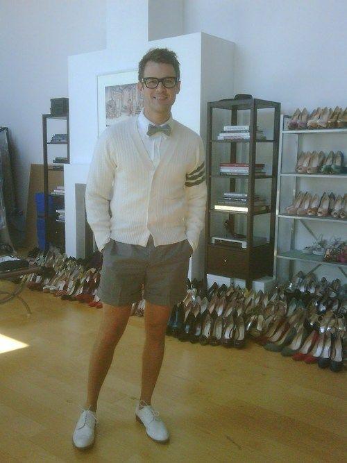 I love Brad Goreski dress sense!