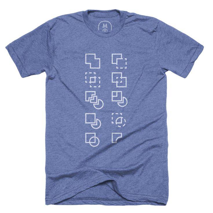 """Pathfinder"" graphic designer t-shirt and pullover crewneck by Evan Stremke."