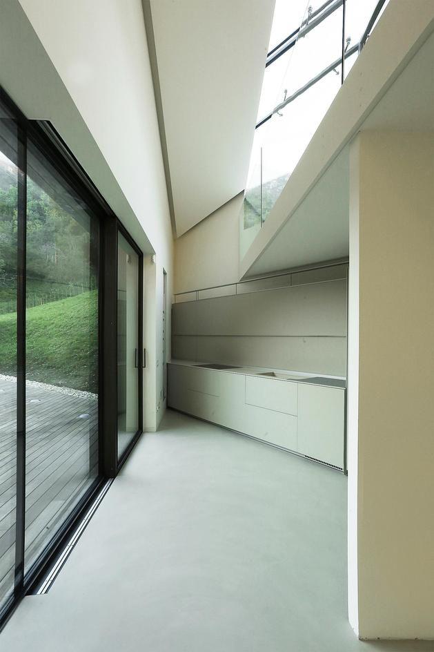 interior design Alps Villa by Camilo Boticini Architects