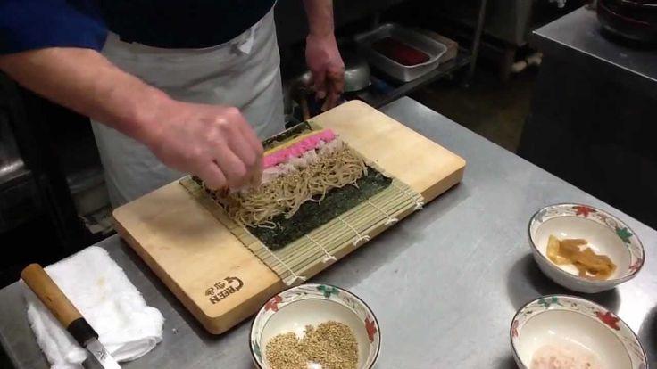 「そば寿司」の作り方★信州小布施流そば打ち伝道師 丸山実留