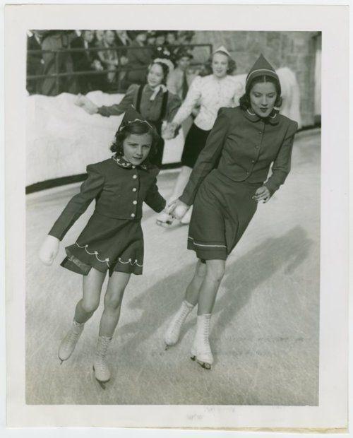 vintage ice skating dresses.