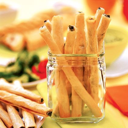 Spinach Sticks: Greek Spinach, Food Ideas, Sticks Recipes, Finger Foods, Fingers Food Recipes, Baby Shower Food, Picnics Food, Spinach Sticks, Baby Shower