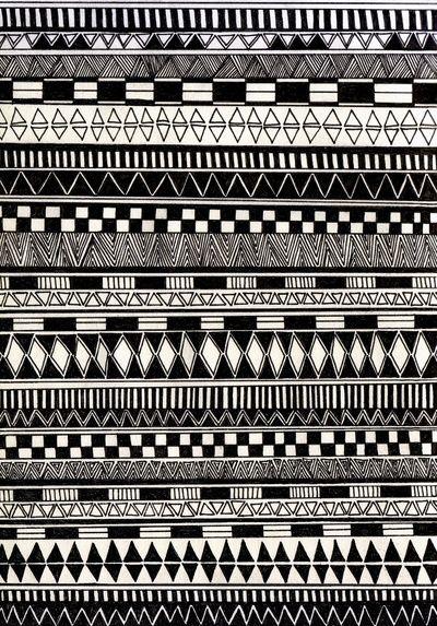 black//white Art Print by Eliza L