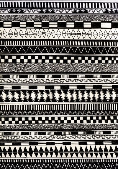 black//white Art Print by Eliza Loh | Society6
