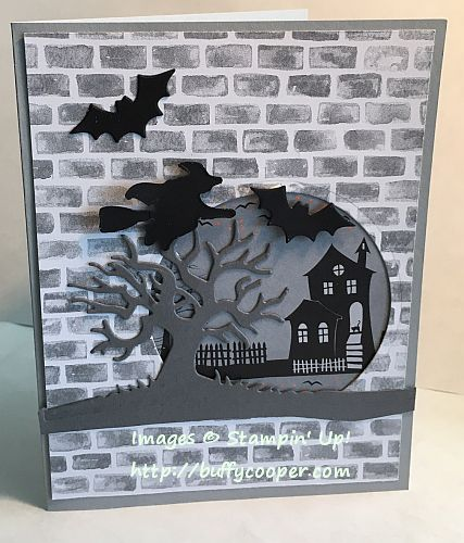 Halloween Night - Stamping in Winchester, VA, with Buffy Cooper