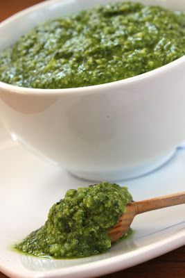 kale pesto - I think I already pinned this, but I never have enough kale recipes.