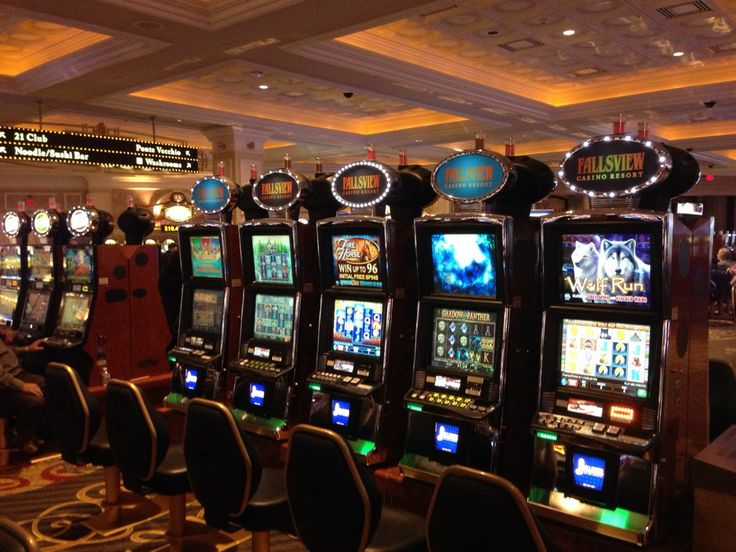 Best slot machines fallsview casino