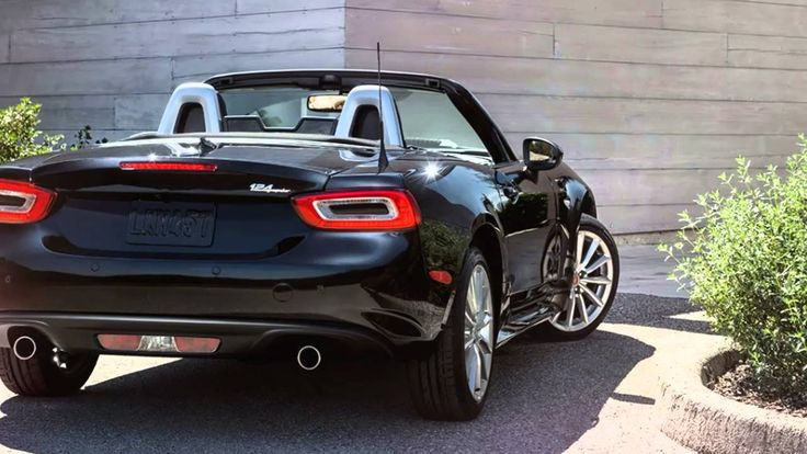 Best New Cars for 2017 : Abarth 124 Spider ~ New Italian Sports Car