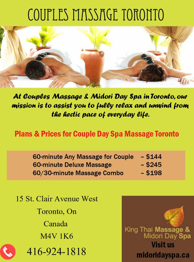 Get the best deals on toronto spa packages for couples for Spa vacation packages for couples