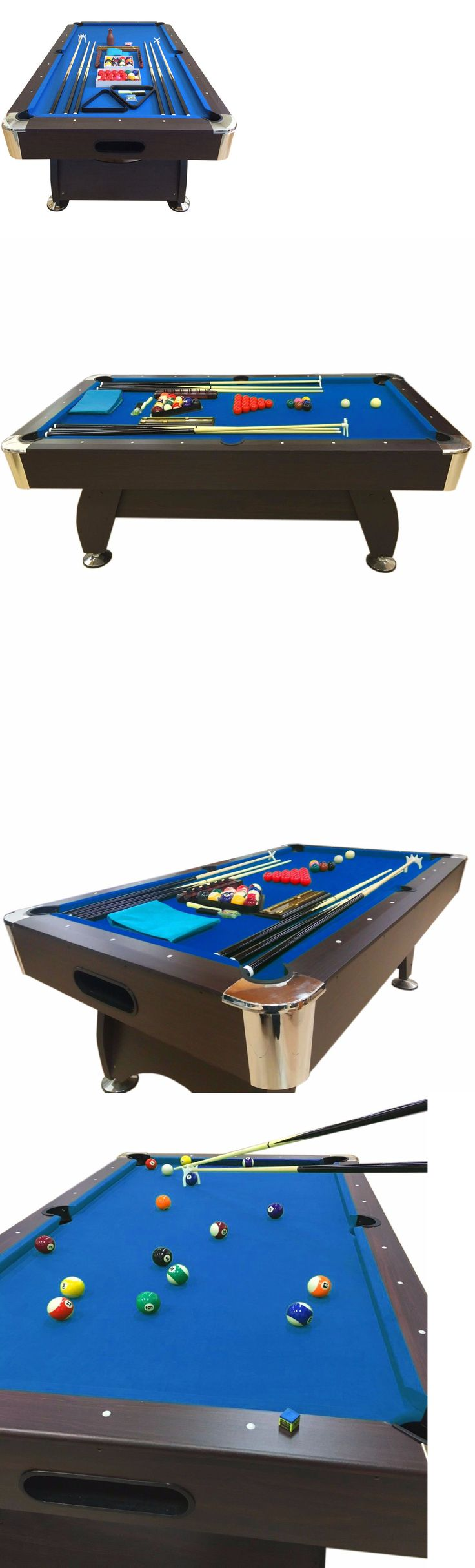 Tables 21213: 7 Feet Billiard Pool Table Snooker Full Set Accessories Game Mod. Blue Sea -> BUY IT NOW ONLY: $949.05 on eBay!