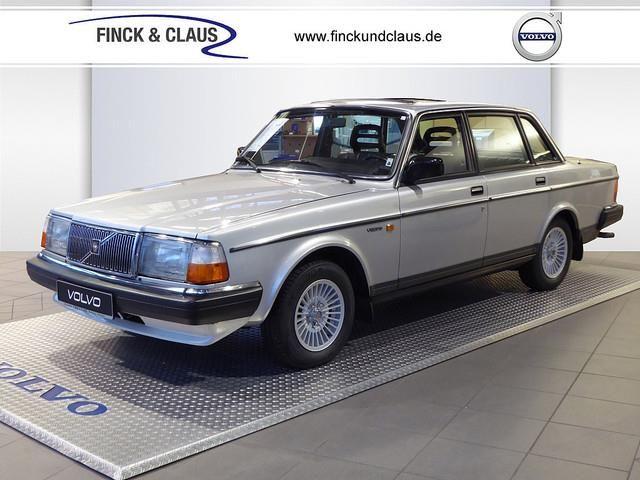 Volvo 240 GL KLIMA LEDER STANDHEIZUNG Silber - 1