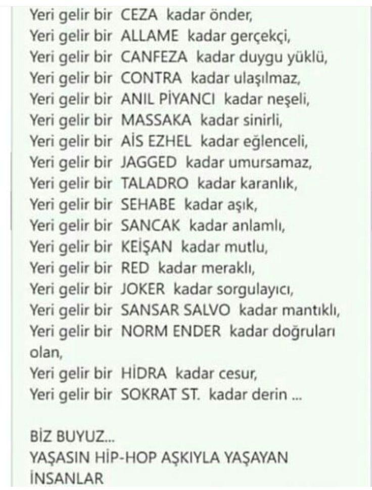 Yaşasın HİP-HOP aşkıyla yaşayan insanlar!!