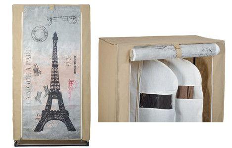 Akasztós mobilszekrény Párizs látképpel