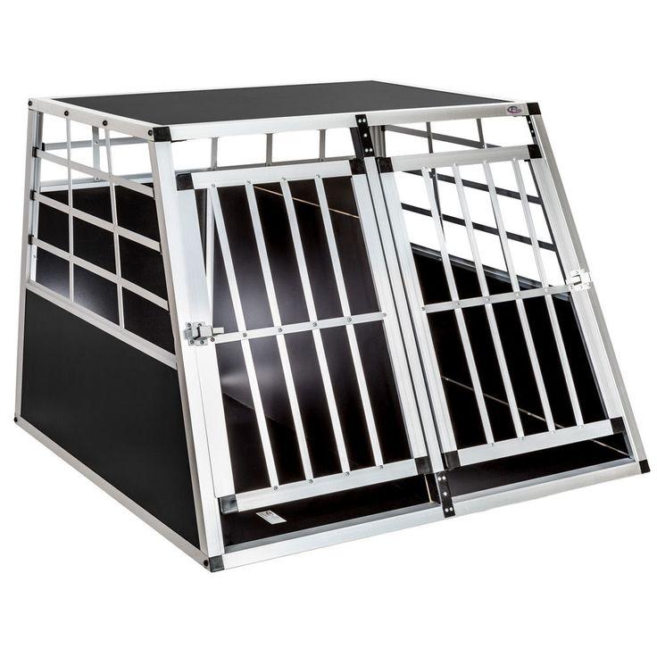 Hundebox Transportbox Alubox BOX Hundetransportbox Reisebox Gitterbox ALU NEU | eBay