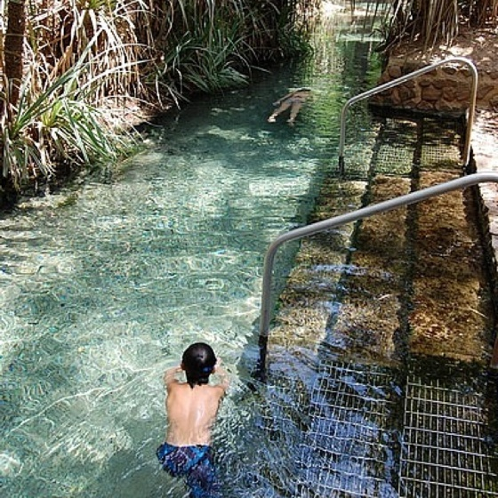 Katherine, Australia Hot Springs